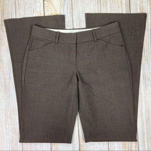 THEORY Max C Sevona Dress Pants Wool Blend Stretch